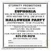 Eternity Euphoria 1993 Halloween Party
