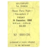 Atmosphere (Southport) 1990 2 (Ticket) Image 1