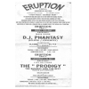 Eruption (Grimsby) 1992 July (Prodigy) Image 2
