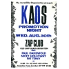 Kaos (Weekender) 1989 Promotion Night Image 1