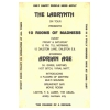 Labrynth 1989 On Tour Change Of A Decade Image 2