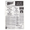 Quest Newsletter No. 12 1993 June Image 1