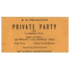 B.M. Promotions Private Party