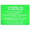 World Dance 1993 July