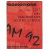 Scream 92 At The Hard Dock Cafe (Ticket) Image 1