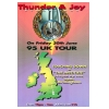 Thunder & Joy 1995 UK Tour Image 1