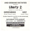 Liberty (Kickin) 1991 August Image 2