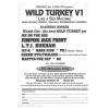Obsession Inc. 1992 Wild Turkey VI Image 2