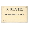 X Static 89 Membership Card Image 2