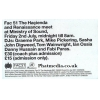 Hacienda & Renaissance Meet At Ministry Of Sound Image 2