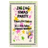 Zig Zag New Year Black Party