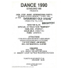Dance 90 1990 Non Stop Music International 2 Image 2