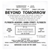 Beyond Tomorrow 1991 June Image 2