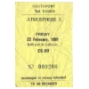 Atmosphere Southport 1991 III (Ticket) Image 1