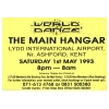 World Dance 1993 May Pre Flyer