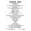 Dance 90 1990 Non Stop Music International 3 Image 2