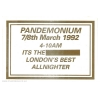 Pandemonium 92 March Image 2
