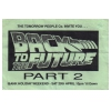 Back To The Future 1989 Part 2 Image 1