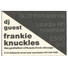 Hacienda 1989 / December Frankie Knuckles